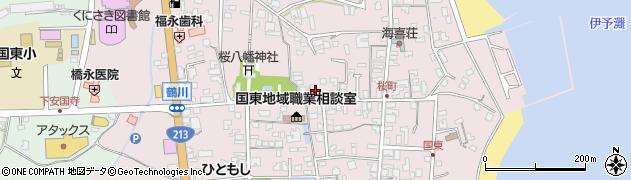 大分県国東市国東町鶴川229周辺の地図