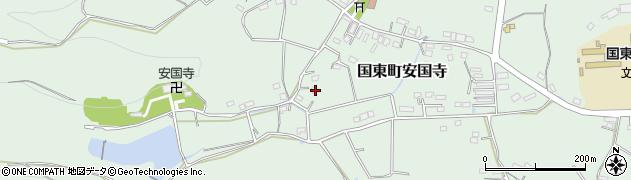 大分県国東市国東町安国寺1053周辺の地図