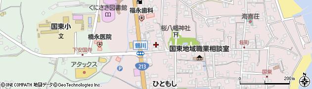 大分県国東市国東町鶴川207周辺の地図
