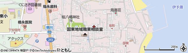 大分県国東市国東町鶴川231周辺の地図