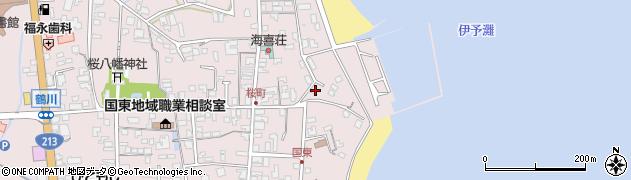 大分県国東市国東町鶴川511周辺の地図