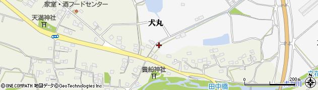 大分県中津市犬丸1221周辺の地図