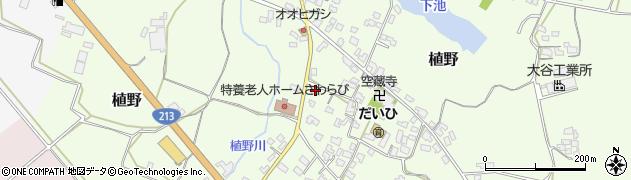 大分県中津市植野245周辺の地図