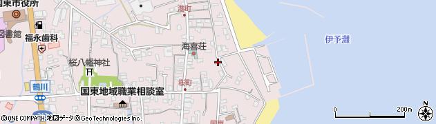 大分県国東市国東町鶴川492周辺の地図