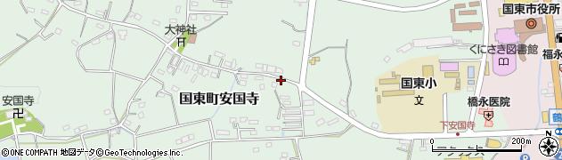 大分県国東市国東町安国寺929周辺の地図