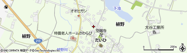大分県中津市植野265周辺の地図