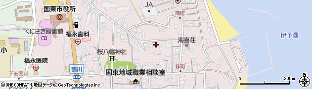 大分県国東市国東町鶴川237周辺の地図