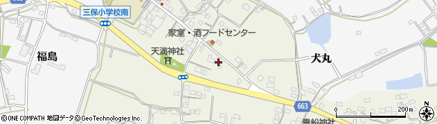 大分県中津市伊藤田2588周辺の地図