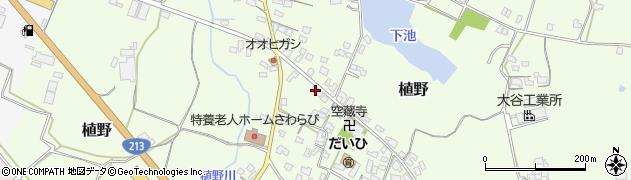 大分県中津市植野266周辺の地図