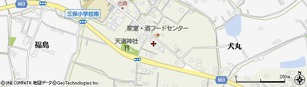大分県中津市伊藤田2580周辺の地図