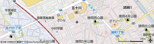 株式会社日セラ周辺の地図