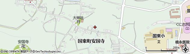 大分県国東市国東町安国寺1081周辺の地図