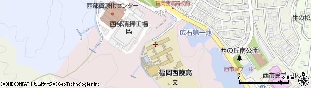 福岡県福岡市西区拾六町周辺の地図