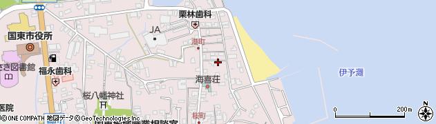 大分県国東市国東町鶴川353周辺の地図