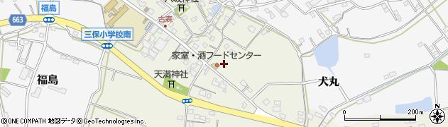 大分県中津市伊藤田2816周辺の地図