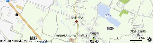 大分県中津市植野1283周辺の地図