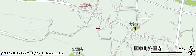 大分県国東市国東町安国寺1419周辺の地図