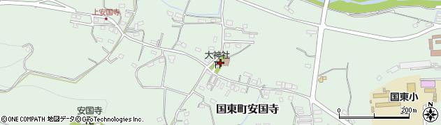 大分県国東市国東町安国寺1094周辺の地図