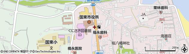 大分県国東市国東町鶴川153周辺の地図