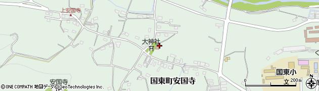 大分県国東市国東町安国寺1072周辺の地図