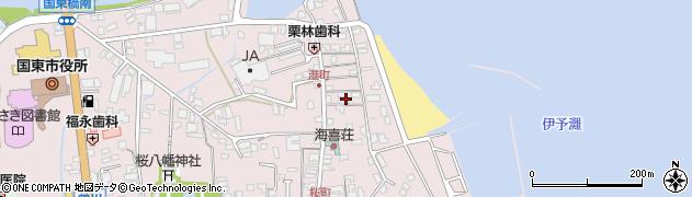 大分県国東市国東町鶴川359周辺の地図