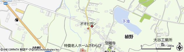 大分県中津市植野1288周辺の地図