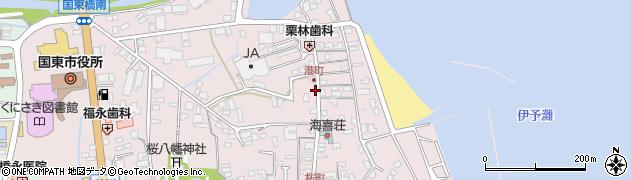 大分県国東市国東町鶴川406周辺の地図