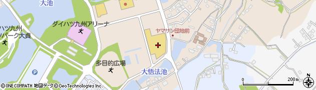 大分県中津市大貞389周辺の地図