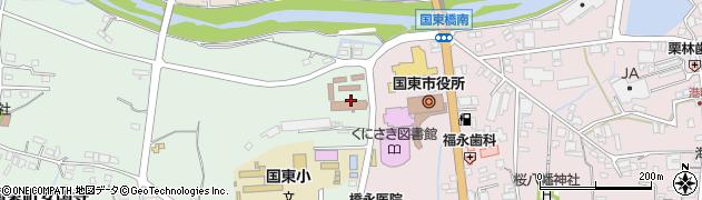 大分県国東市国東町安国寺周辺の地図