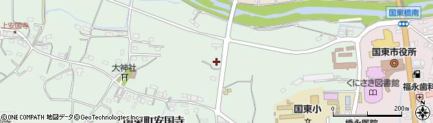 大分県国東市国東町安国寺849周辺の地図