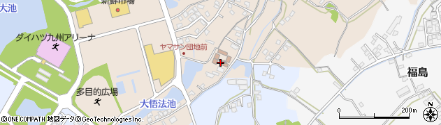 大分県中津市大貞383周辺の地図