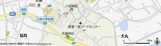 大分県中津市伊藤田3175周辺の地図