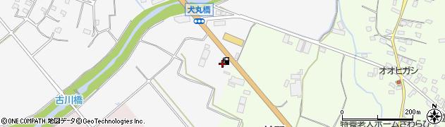 大分県中津市犬丸54周辺の地図