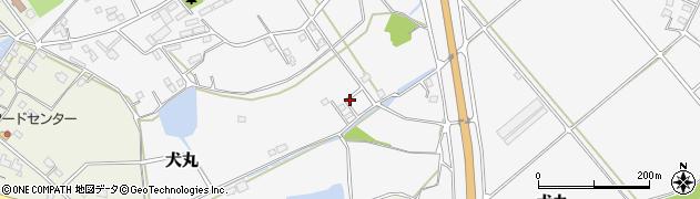 大分県中津市犬丸1292周辺の地図