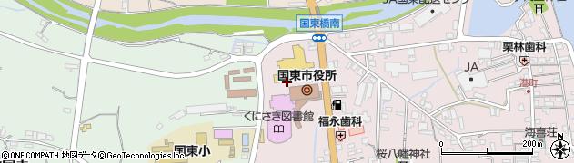 大分県国東市国東町鶴川150周辺の地図