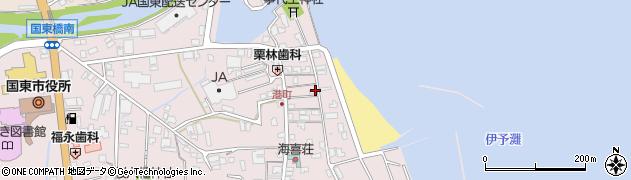 大分県国東市国東町鶴川379周辺の地図