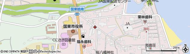 大分県国東市国東町鶴川53周辺の地図