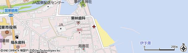 大分県国東市国東町鶴川340周辺の地図