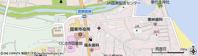 大分県国東市国東町鶴川50周辺の地図