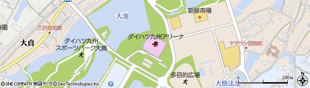 大分県中津市大貞377周辺の地図