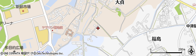 大分県中津市大貞34周辺の地図