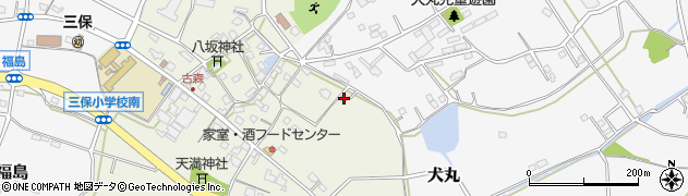 大分県中津市伊藤田2794周辺の地図