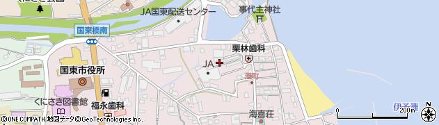 大分県国東市国東町鶴川288-5周辺の地図