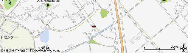 大分県中津市犬丸1301周辺の地図
