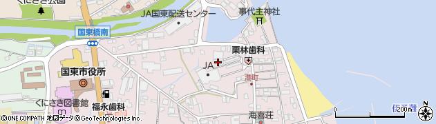 大分県国東市国東町鶴川288周辺の地図
