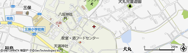 大分県中津市伊藤田2832周辺の地図