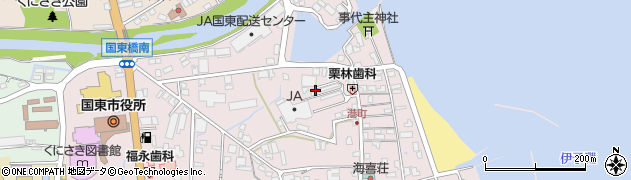 大分県国東市国東町鶴川288-13周辺の地図