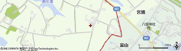 大分県中津市植野1652周辺の地図