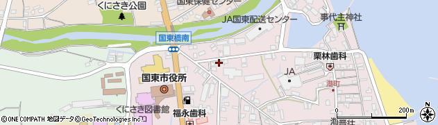 大分県国東市国東町鶴川55周辺の地図