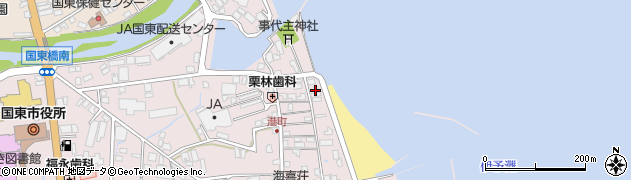 大分県国東市国東町鶴川331周辺の地図